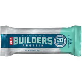 CLIF Bar Builder's Batony proteinowe- opakowanie 12 x 68g, Chocolate Mint